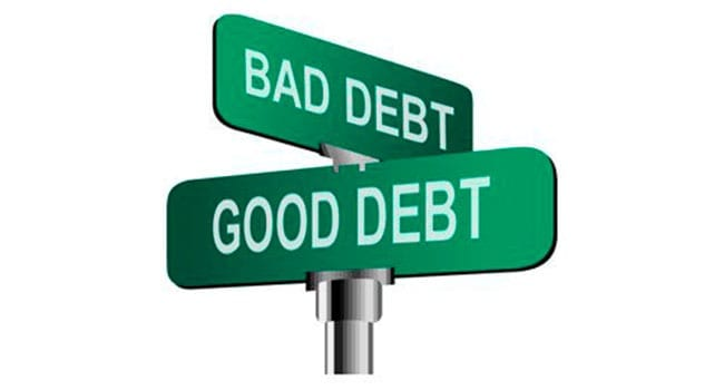 Debt doesn't always have to be a four-letter word