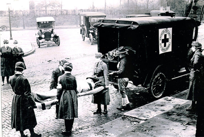 Flu pandemic of 1918 brutal, virulent killer