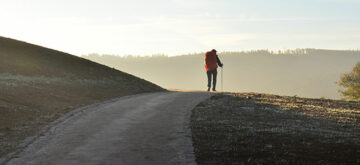 Walking the Camino de Santiago in northern Spain