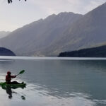 canoeing b.c. rec sites campsites lake mountains