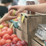 farmers market food