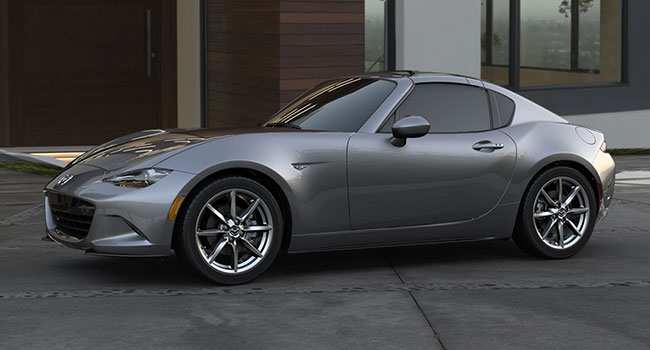 Mazda MX-5 RF may be ugly but it handles like a dream