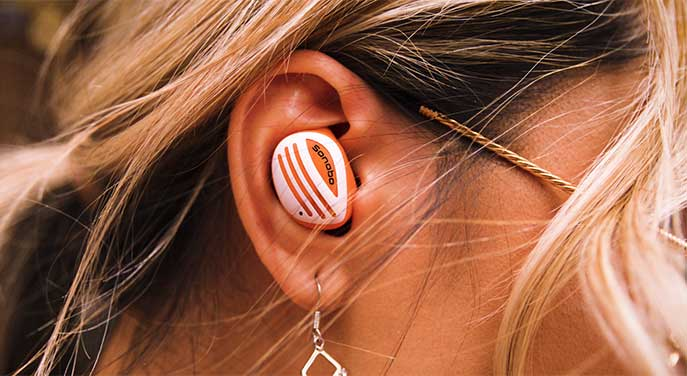 Sonobo Earbuds features all-day comfort and a great audio experience
