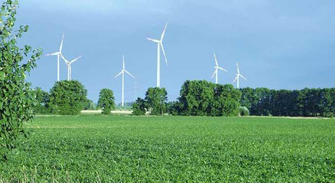 windmills, wind