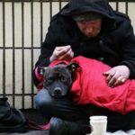 Homeless poverty
